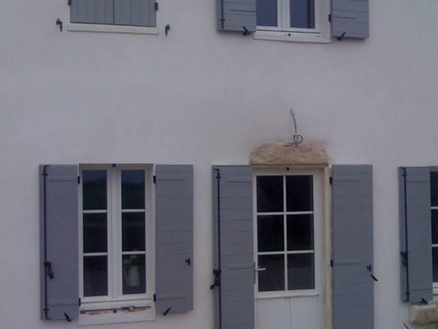 volets battants Charente